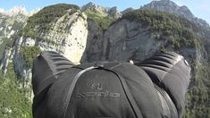"""Jeb Corliss posted this video on YouTube of his wingsuit experience. This invention practically allows ones to fly by jumping off of a cliff, or something similar. Another technology that really enhances the experience is the use of Go Pro cameras. This allows the viewer to see the experience almost exactly to how the person actually """"flying"""" does."""