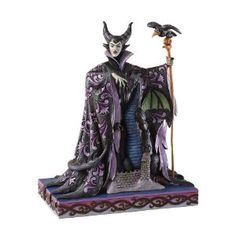 Maleficent with Dragon Figurine by Jim Shore