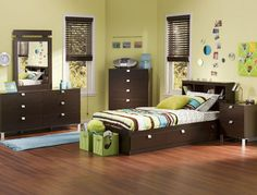 Best Kids Black Bedroom Furniture Ideas - http://decorateinteriors.net/1948-best-kids-black-bedroom-furniture-ideas.html : #BedroomFurniture Kids' black bedroom furniture has modern and distinctively unique decorating style to create elegant as stylish bedrooms for kids to enjoy at high value of enchanting decorating. Kids' bedroom furniture determines overall space but there are certain considerations to put in mind when it comes to ...