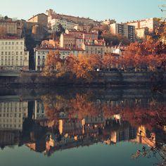"-cityoflove: "" Lyon, France via Jeke's Photos """