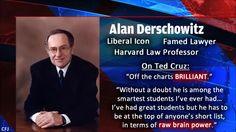 Alan Derschowitz on Ted Cruz