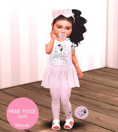 Sims 4 Toddler Clothes, Sims 4 Cc Kids Clothing, Sims 4 Mods Clothes, Toddler Girl Outfits, Kids Outfits, Toddler Stuff, Toddler Fashion, Toddler Girls, Doll Clothes