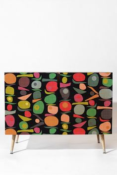 Sharon Turner Equilibrium Credenza DENY Designs Home Accessories 831477149937220111 Funky Painted Furniture, Art Furniture, Upcycled Furniture, Furniture Projects, Furniture Makeover, Furniture Design, Furniture Restoration, Decoration, Home Accessories
