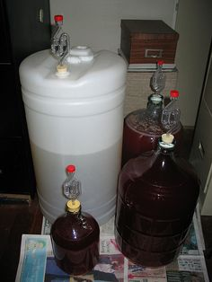 Wine Making 101... need to start making my own again...