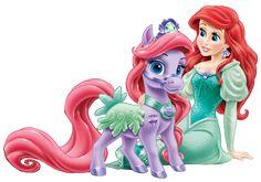 """Ariel and Seashell"" - Disney Princess Palace Pets."
