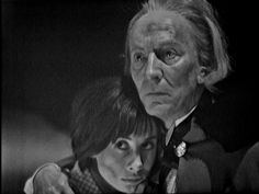 william hartnell | doctor_who_an_unearthly_child_carole_ann_ford_and_william_hartnell #WilliamHartnell