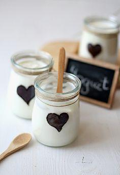Vasitos de yogur by SandeeA Cocina, via Flickr  www.larecetadelafelicidad.com