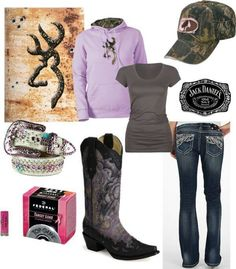 Mossy Oak, Browning, and Jack Daniel's Country Style Outfits, Country Wear, Country Girl Style, Country Fashion, My Style, Country Life, Country Chic, Country Living, Country Strong