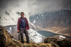 Yo en el Nevado de Toluca