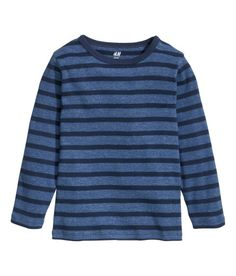 Check this out! CONSCIOUS. Long-sleeved striped top in soft organic cotton jersey. - Visit hm.com to see more.