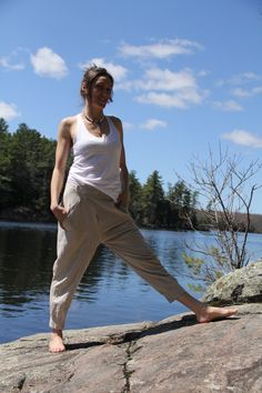 ⭐️⭐️⭐️⭐️⭐️ 5 star review: Comfort and ease all right Not too tight, not too loose, not to heavy, not to light....absolutely perfect.  These are those pants that you purchase in every colour.  Easy to dress up or wear casually, and you can do yoga in them. #unisex #casualstyle #organiccotton #lifestyle