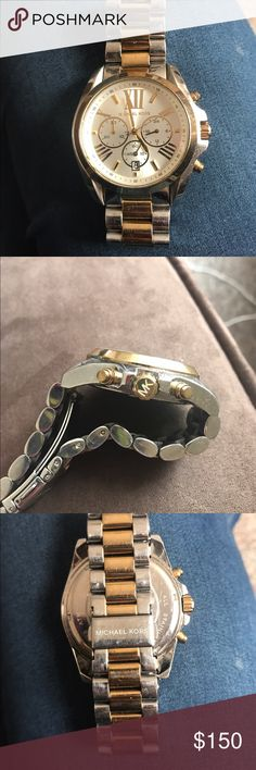 Men's Michael Kors Watch Michael Kors watch model number MK- 5627. Stainless Steel. Has some wear and tear as depicted in the photos and needs a new battery. No trades but offers will be considered. Michael Kors Accessories Watches