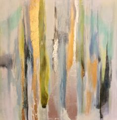 36 x 36 mixed media oil on canvas.