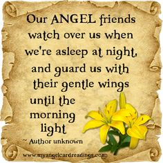 Angel quote: Friday 19th July 2013: