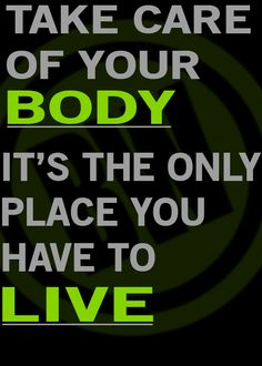 A little friday motivation for the fitness community.