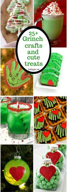 25+ Grinch crafts and cute treats | NoBiggie.net