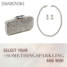 Something old, Something new, #Somethingsparkling, Something blue... Take part in our Pinterest competition for your chance to win some serious Swarovski sparkle https://www.facebook.com/Swarovski/app_717222928303429?ref=ts