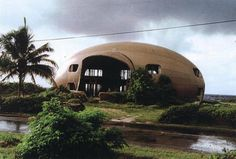 Ana Montiel - Here / Now: Some rounded buildings and bubble houses...