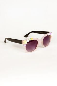 Lolita Stardust Sunglasses - Blush