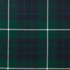 Hamilton Green Modern Lightweight Tartan by the meter – Tartan Shop