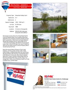 Escape the busy city to a hobby farm 10 minutes to Orangeville on a paved road. This amazing property has 22.39 acres, a spring fed pond, paddocks, a barn plus a 3 car garage! Many updates such as: metal roof, high eff furnace, bay window, carpet, laminate, propane f/p & bbq hook-up, bathrooms, finished basement, main floor laundry. A MUST SEE! 385329 20th Sideroad, Amaranth Ontario $699,000. Open house Sat June 14th @ 12-2pm with a guest! 519.216.1791 www.kariclarkhomes.com