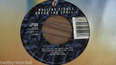 The Rolling Stones: Almost Hear You Cry/Break The Spell (Rock 45) Rolling Stones