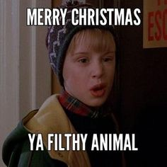 Merry Christmas You Filthy Animal! -- Home Alone