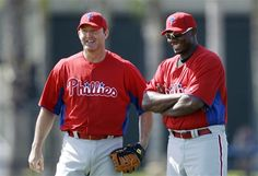 Jim Thome and Ryan Howard