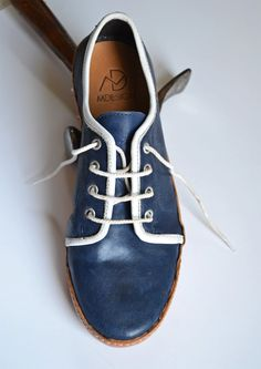 Handmade Curried Leather Women Sneakers - MADE to ORDER -. €150.00, via Etsy.