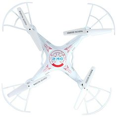 Flymemo BAYANGTOYS X8 RC Quadcopter 4 Channel 6 Axis Gyro 2.4G Drone/2.0MP Camera/360 Degree Eversion/Headless Mode White ** Click on the image for additional details.