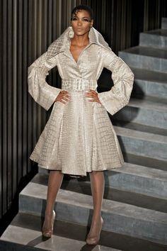 More David Tlale...love this coat!