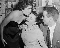 Elizabeth Taylor, Judy Garland, Montgomery Clift