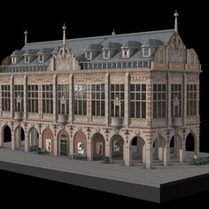This is my first modular set. It was made for a School assignment. My main inspiration and texture reference was from this picture at textures.com : http://www.textures.com/download/buildings18thcentury0018/118662