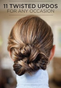 Gorgeous holiday hair: 11 Twisted Updos