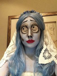 Corpse Bride Makeup.
