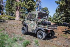 """New 2017 Kawasaki Mule SXâ""""¢ 4x4 XC Camo ATVs For Sale in Texas. Packed with value and undeniable capability, the new 2017 Mule SXâ""""¢ 4x4 XC Camo Side x Side is an easy to use hunting machine with trail-accessible wheels and tires and a rugged appearance. Featuring premium Realtree Xtra® Green Camo bodywork and high-output (2) LED headlights 401 cc air-cooled, 4-stroke; selectable 2WD / 4WD Steel cargo bed with textured floor is durable and scratch resistant Up to 1,100 lbs. towing capacity…"""