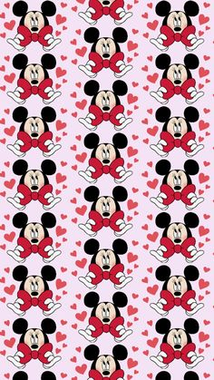 Arte Do Mickey Mouse, Disney Mickey Mouse, Minnie Mouse, Heart Wallpaper, Cellphone Wallpaper, Mobile Wallpaper, Mickey Mouse Wallpaper, Disney Wallpaper, Digital Decorations