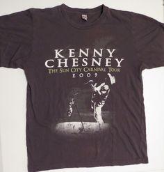 Kenny Chesney: The Sun City Carnival Concert Tour 2009 T-Shirt - Medium