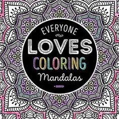 """Pull out your pencils, markers or paints and get creative with Everyone Loves Coloring Mandalas. This book contains 40 intricate images of marvelous mandalas that will provide hours of amusement.  In today's fast-paced world, it is important to slow down and focus on the """"now"""", and coloring is the ultimate down-time diversion. Reap the rewards of your relaxation while stimulating your imagination and watching your creations come to life."""