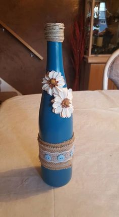 Hey, I found this really awesome Etsy listing at https://www.etsy.com/listing/385550568/wine-bottle-decor-teal
