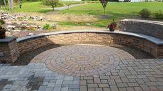 By Shaylor's Pond and Patio work