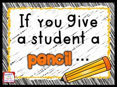If you give a student a pencil... A blog post about how a third grade teacher won the pencil battle!