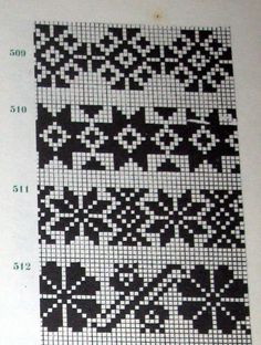 Lapas - Rokdarbu grāmatas un dažādas shēmas - Galerija - Cimdu raksti - draugiem. Tapestry Crochet Patterns, Fair Isle Knitting Patterns, Knitting Charts, Knitting Stitches, Motif Fair Isle, Fair Isle Chart, Fair Isle Pattern, Filet Crochet, Crochet Chart