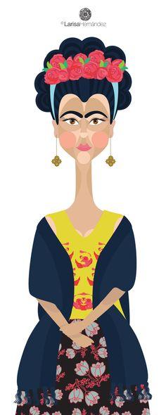 Frida Inspired Illustration | House of Beccaria#