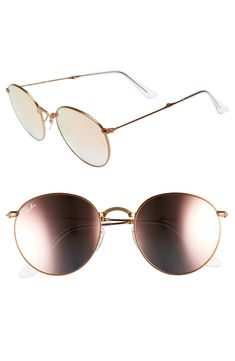 09310a629b love these cute round sunglasses! ray bans are some of my favorites and  these are