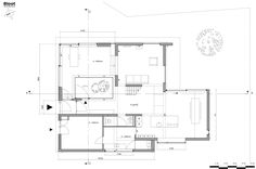 Image 16 of 20 from gallery of Patio House / Bloot Architecture. Ground Floor Plan - New