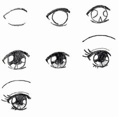 step by step how to draw a neat eye