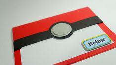 Convite Pokemon Popup 3D