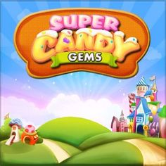 #Match 3 or more colorful #candy #Gems to clear them! Score as much as you can in the available time. See how many colorful candy Gems you can collect in this simple but #addictive #puzzle #game.