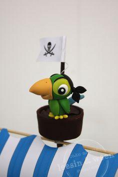 Penang Wedding Cakes by Leesin: Jake The Pirate Cake